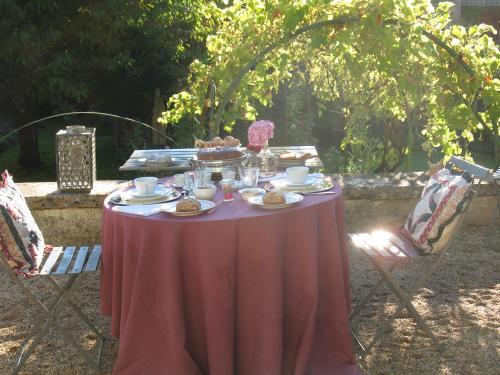 Au fil des mots - Petit déjeuner en terrasse