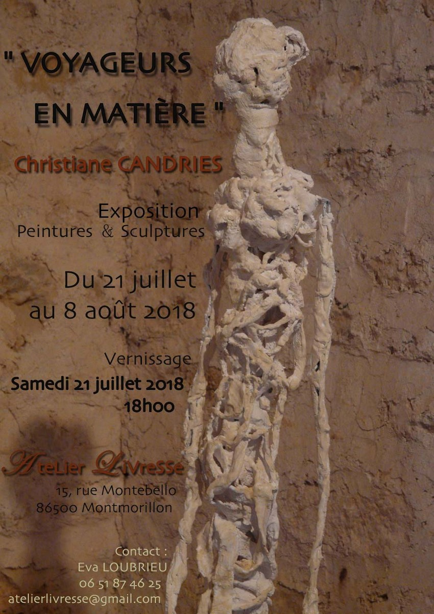 affiche VOYAGEURS CANDRIES