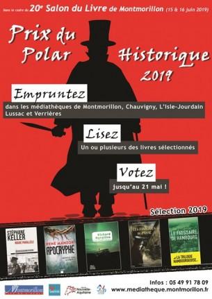 Affiche Prix du Polar historique 2019