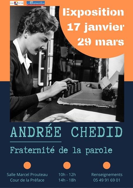 Andrée Chedid fraternité de la parole red