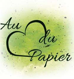 logo seul au coeur du papier