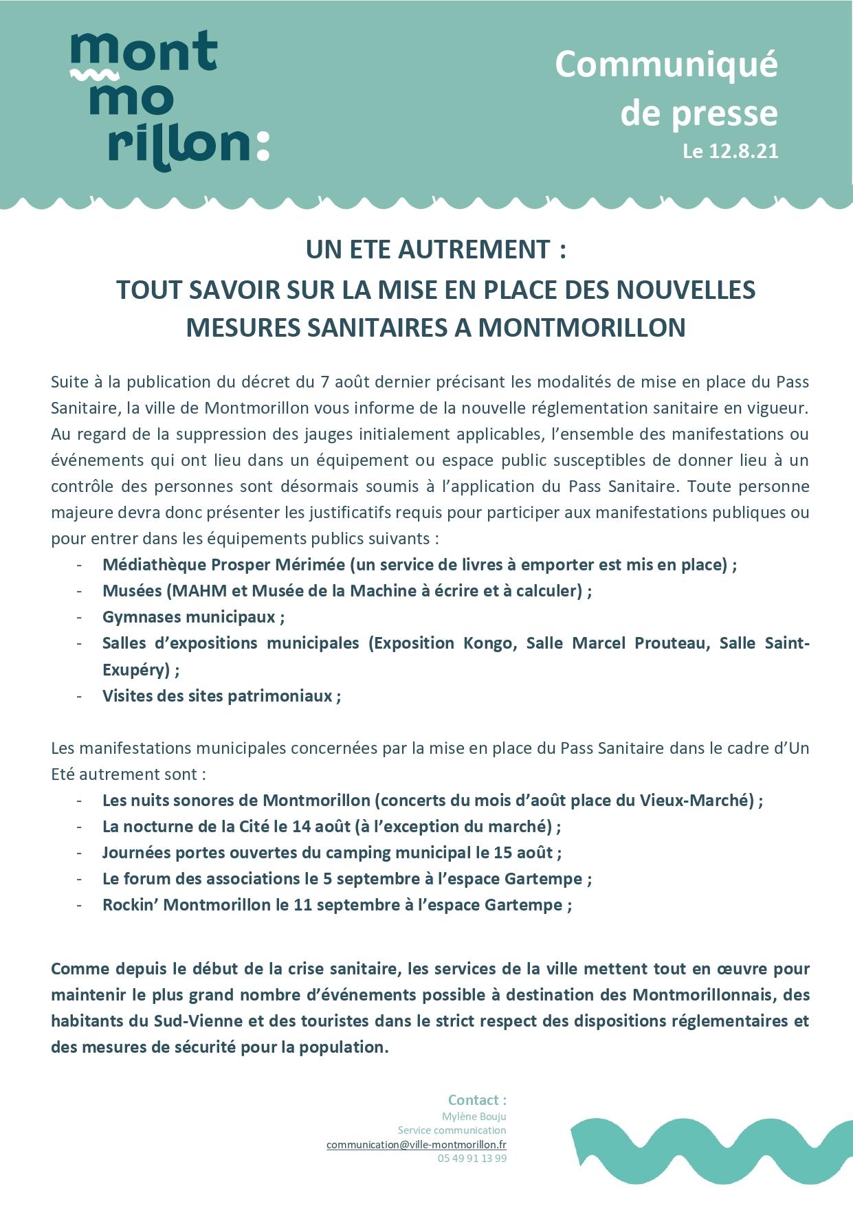 COMMUNIQUE PASS SANITAIRE - VILLE DE MONTMORILLON 12.8_page-0001